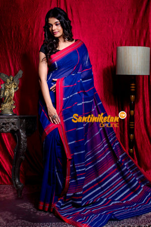 All Over And Pallu Tribal Work Begampuri Saree SN20203452