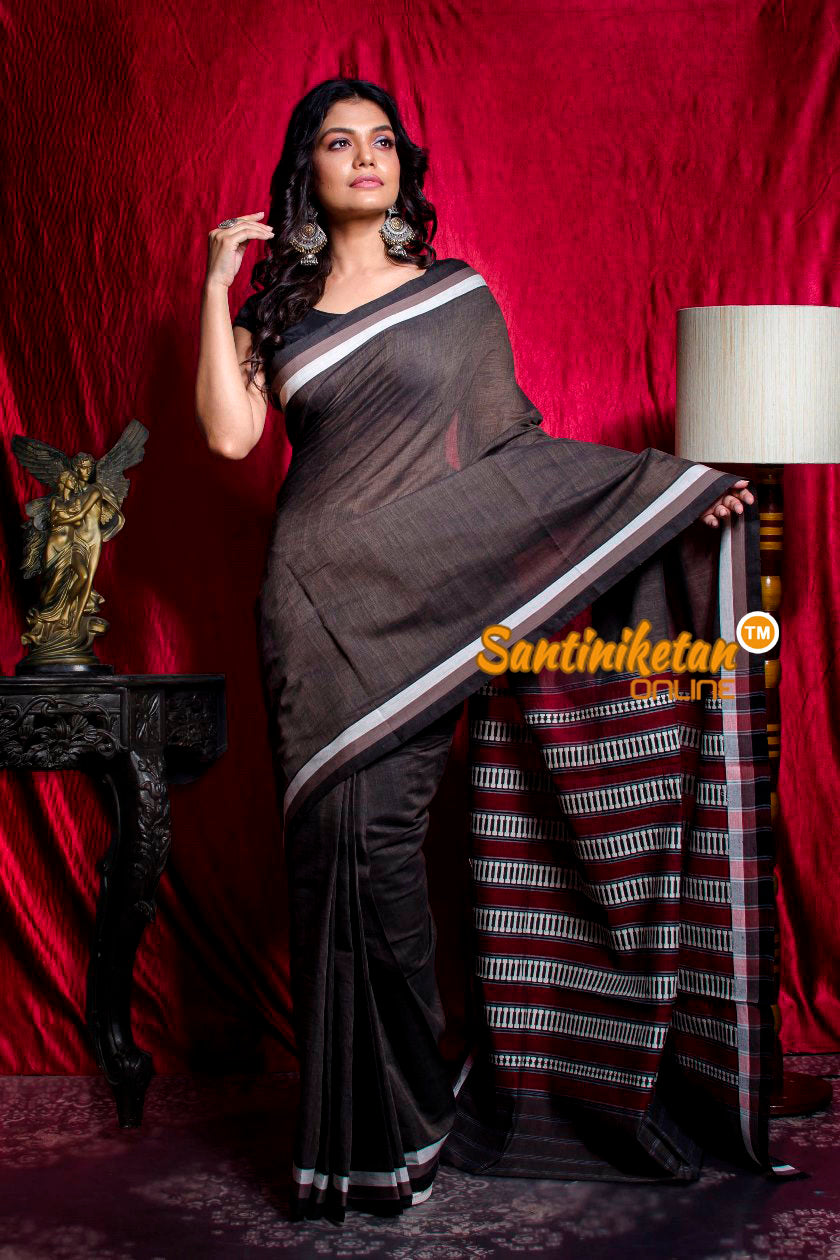 Tribal Work With Naksha Anchal Begampuri Saree SN20203455