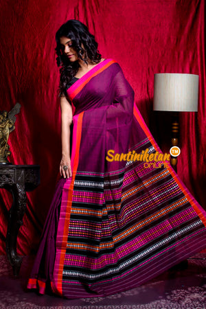 Tribal Work With Naksha Anchal Begampuri Saree SN20203458
