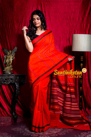 All Over And Pallu Tribal Work Begampuri Saree SN20203461