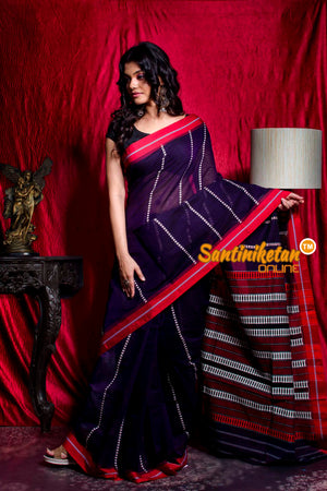 All Over And Pallu Tribal Work Begampuri Saree SN20203485