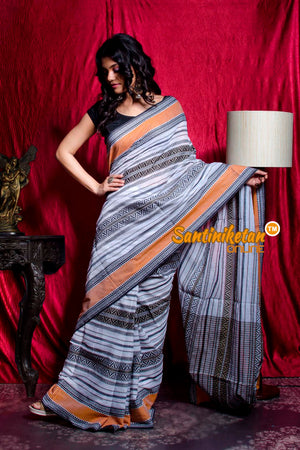 Soft Cotton Tribal Design Multicolor Saree SN20203488