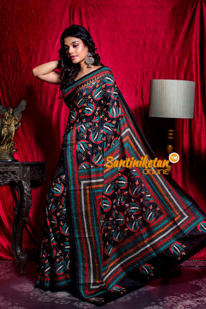 Kantha Stitch Saree SN20203506