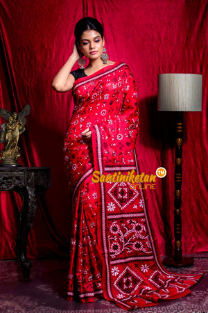 Kantha Stitch Saree SN20203547