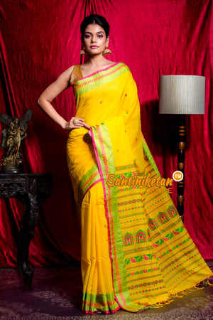 Dolabedi Cotton Handloom Saree SN20203625