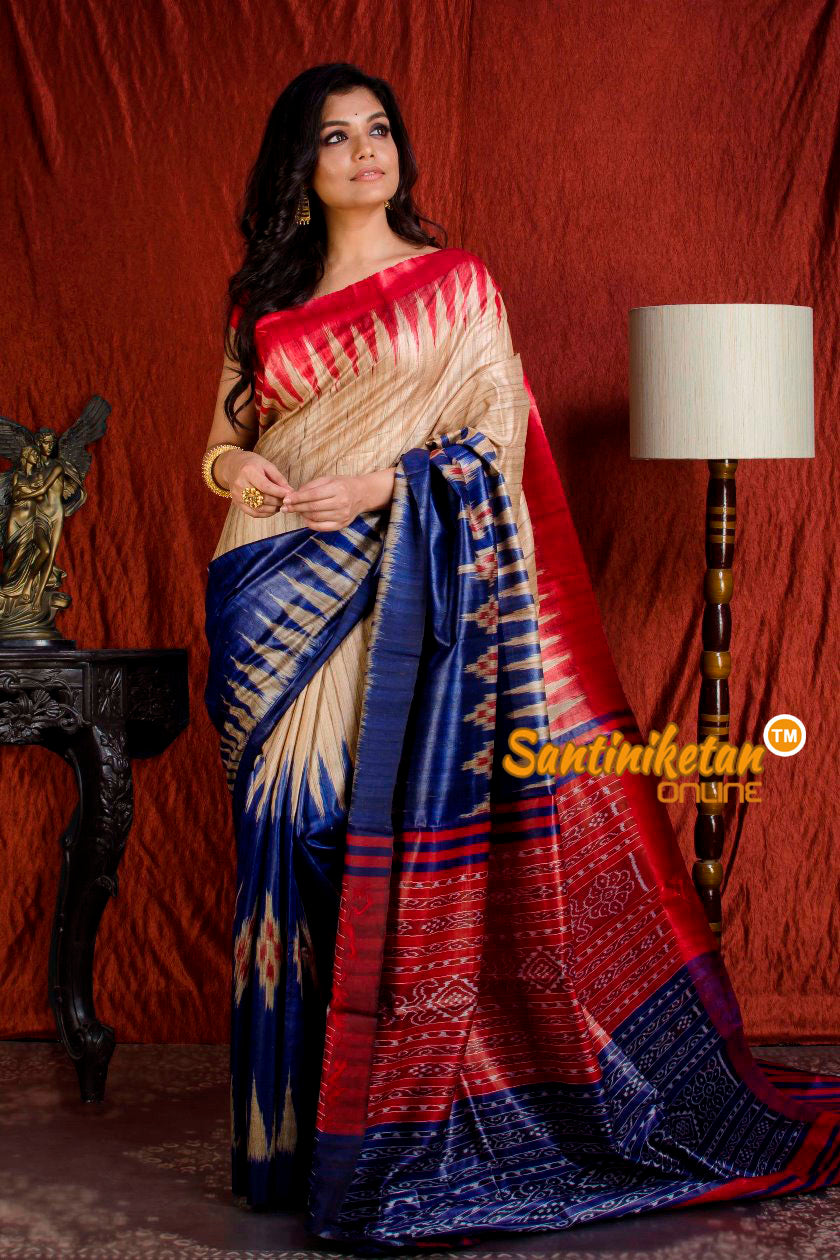 Traditional Gopalpur Tussar Ghicha Silk Saree SN20203881