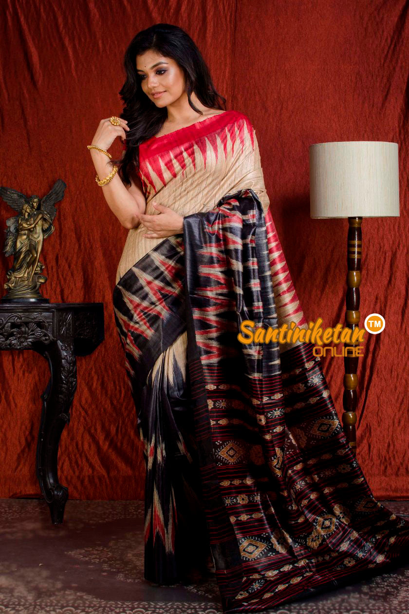 Traditional Gopalpur Tussar Ghicha Silk Saree SN20203884