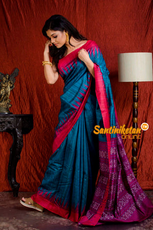 Traditional Gopalpur Tussar Ghicha Silk Saree SN20203890