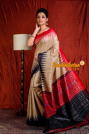 Traditional Gopalpur Tussar Ghicha Silk Saree SN20203893