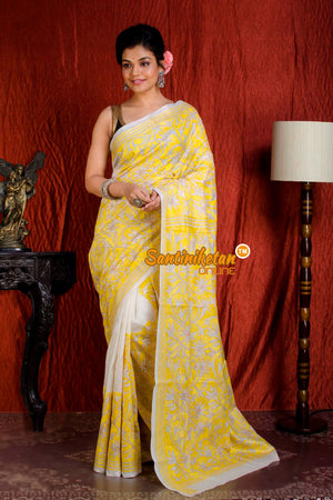 Kantha Stitch Saree SN20204925