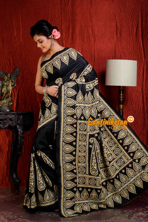 Kantha Stitch Saree SN20204937