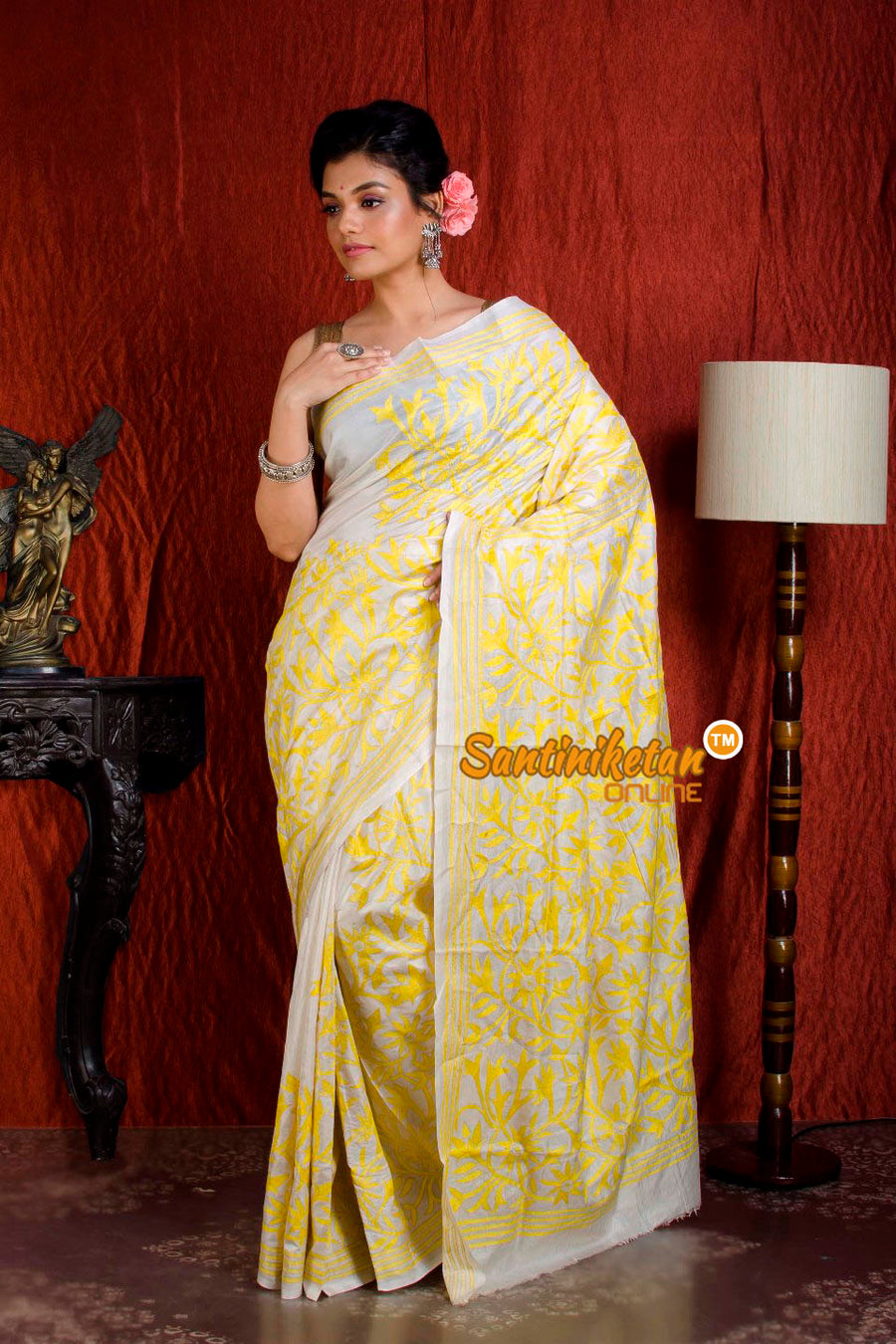Kantha Stitch Saree SN20204946