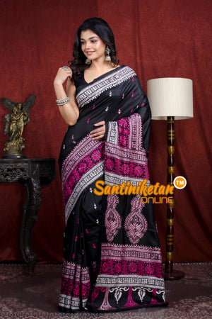 Kantha Stitch Saree SN20206681