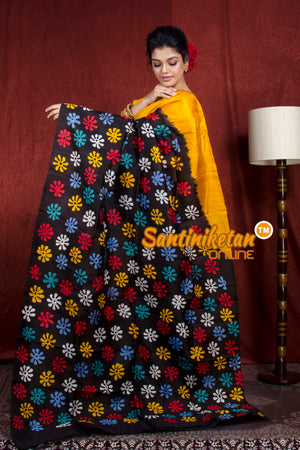 Hand Batik On Murshidabad Silk SN20206872