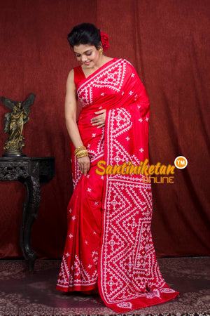Gujrati Stitch Saree SN20207016