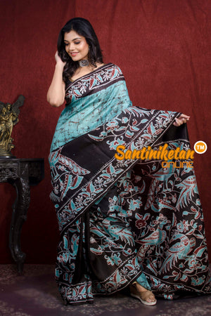 Hand Batik On Murshidabad Silk SN20217798