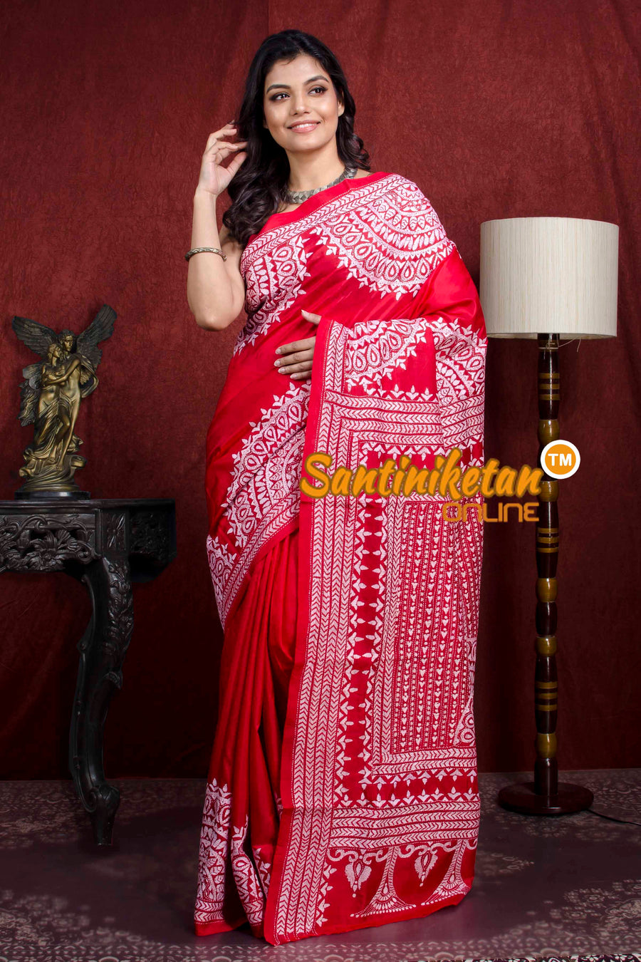 Kantha Stitch Saree SN20218041