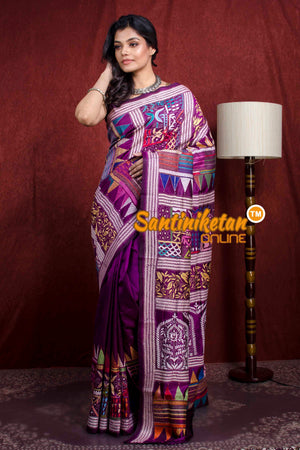 Kantha Stitch Saree SN20218044