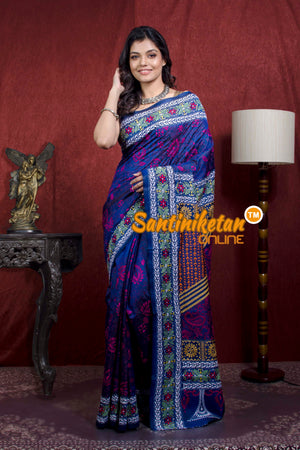 Kantha Stitch Saree SN20218047
