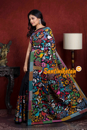 Kantha Stitch Saree SN20210425