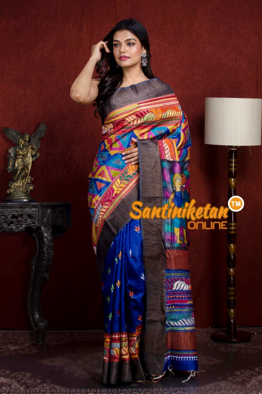Kantha Stitch Saree SN20210787