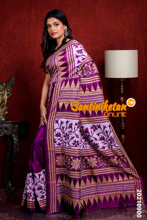 Kantha Stitch Saree SN20210900