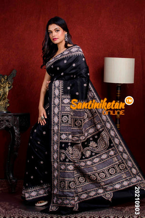 Kantha Stitch Saree SN20210903