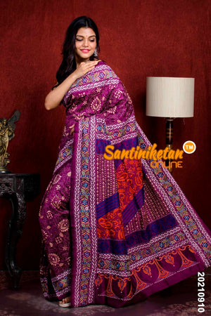 Kantha Stitch Saree SN20210910