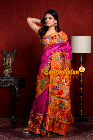 Kantha Stitch Saree SN20210913