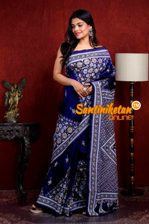 Kantha Stitch Saree SN20210923