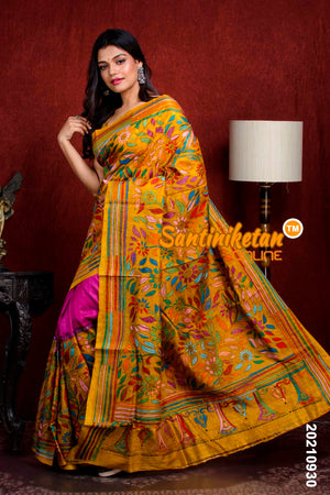 Kantha Stitch Saree SN20210930