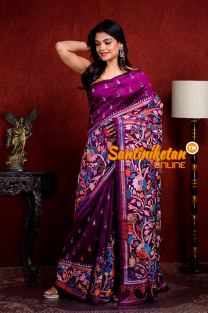 Kantha Stitch Saree SN20210936