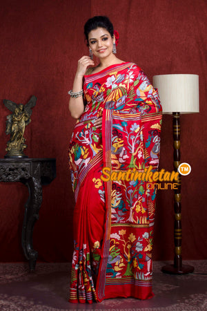 Kantha Stitch Saree SN20218707