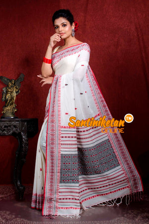 Assam Khaddi Cotton Saree SN20219009