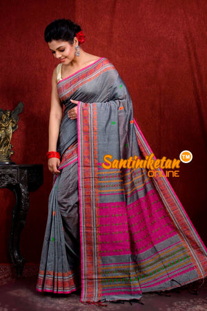 Assam Khaddi Cotton Saree SN20219030