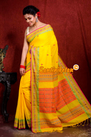 Assam Khaddi Cotton Saree SN20219033