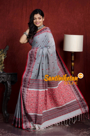 Assam Khaddi Cotton Saree SN20219833