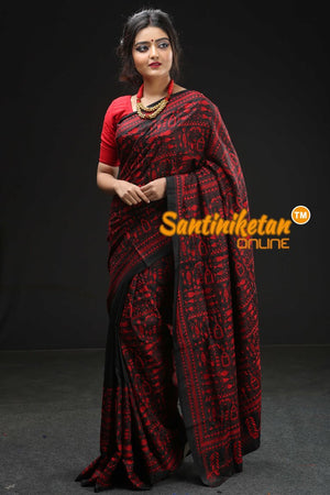 Kantha Stitch Saree SN20195215