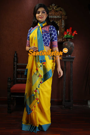 Khaddi Cotton Jamdani Work Saree SN2018725