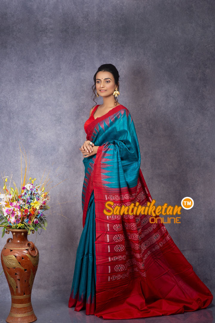 Traditional Gopalpur Tussar Ghicha Silk Saree SN20207833