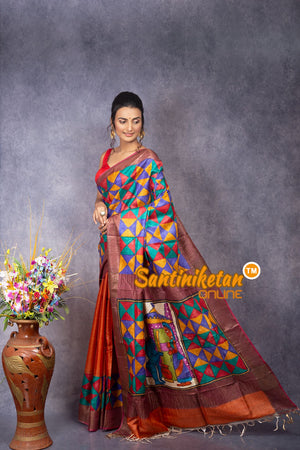 Kantha Stitch Saree SN20207922