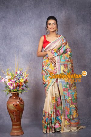 Kantha Stitch Saree SN20207928