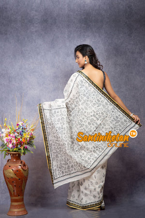 Pure Cotton Kantha Saree SN20208170