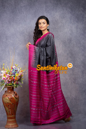 Traditional Gopalpur Tussar Ghicha Silk Saree SN20208328