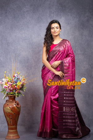 Traditional Gopalpur Tussar Ghicha Silk Saree SN20208341