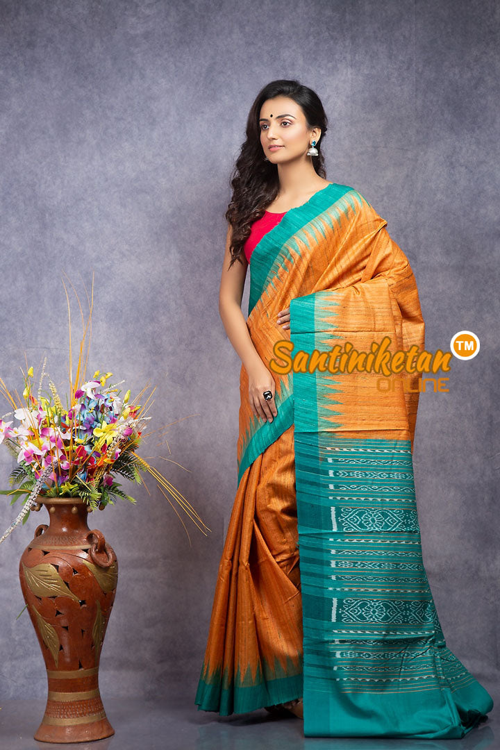 Traditional Gopalpur Tussar Ghicha Silk Saree SN20208377