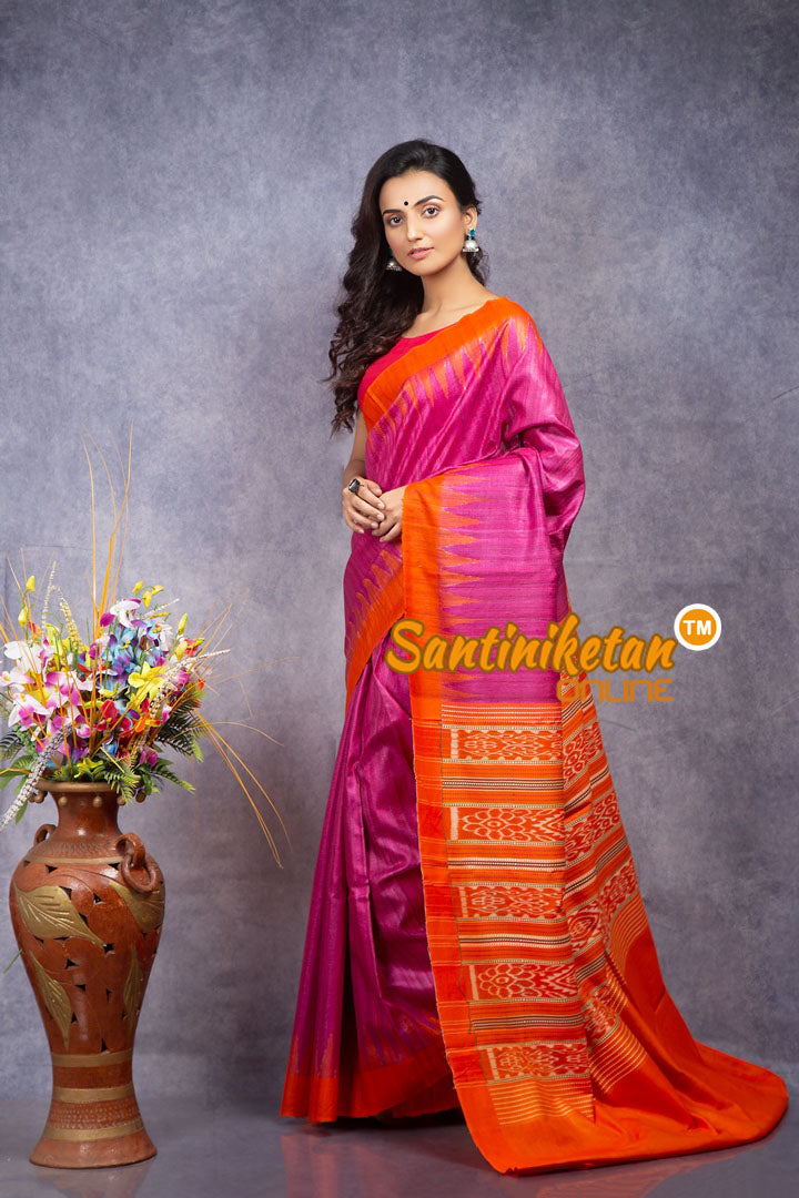 Traditional Gopalpur Tussar Ghicha Silk Saree SN20208389