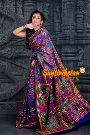 Kantha Stitch Saree SN20202210