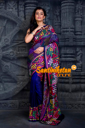 Kantha Stitch Saree SN20202234