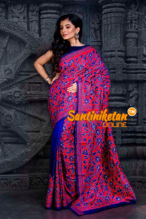 Kantha Stitch Saree SN20202277